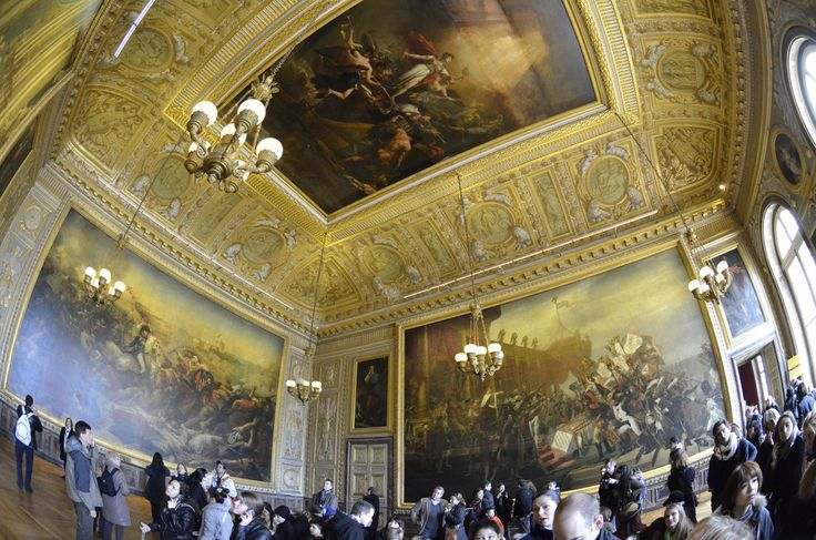 Versailles Palace Interior with Fisheye lens | SpirosK photography | Flickr