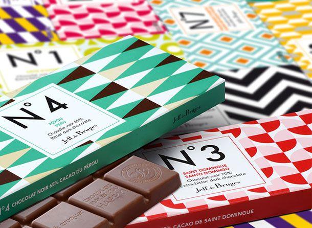 Jeff de Bruges – Vente en ligne de chocolats et de dragées : N°1 Côte d'Ivoire Noir 70%80 g
