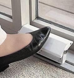 Patio Door Security Locks GREAT IDEA!! Have To Have This!
