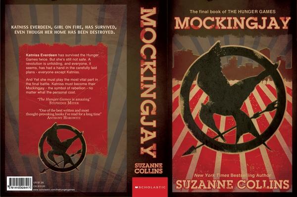 MockingJay cover redesign by Kathie Bayne, via Behance ...