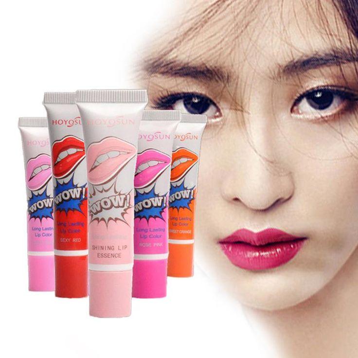 Aliexpress.com: Comprar 6 colores a prueba de agua brillo de labios magia pele apagado la máscara tinte mate lápiz labial de larga duración de Fajas magia fiable proveedores en luckyauction2014
