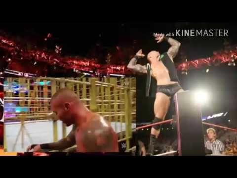 Jinder Mahal vs. Randy Orton (Punjabi Prison Match) - WWE BattleGround 2...