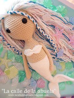 Crochet And Hook: Blanca a sellő. Magyar mintaleírás