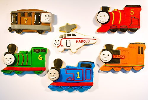 1000 Images About Train Decorated Cookies And Cake Pops