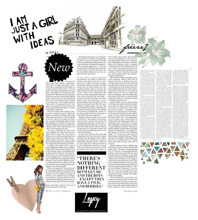 MAgz by freisstea on Polyvore featuring art