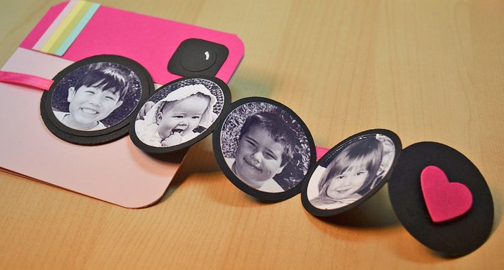 Super cute idea with pictures! Pinkstagram by jjbolton at @Studio_Calico