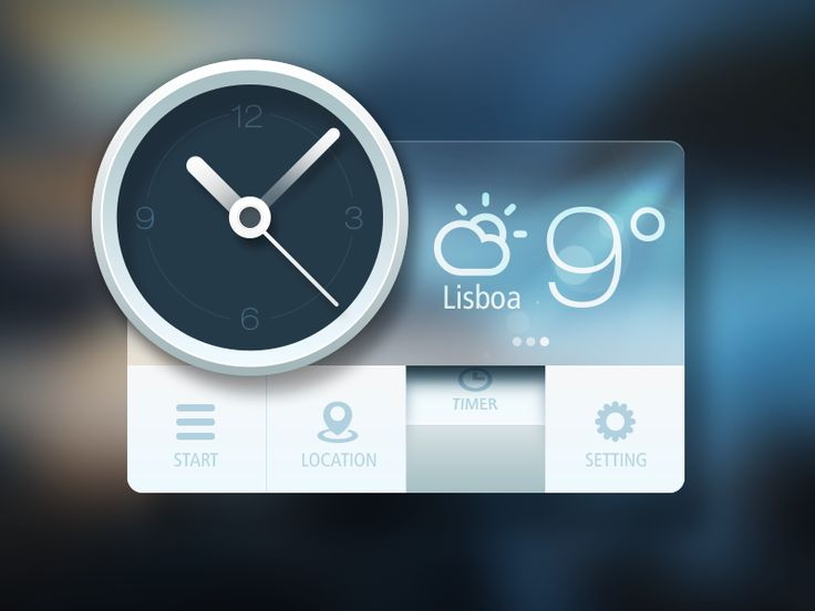 Weather - by Sanadas Young | #ui