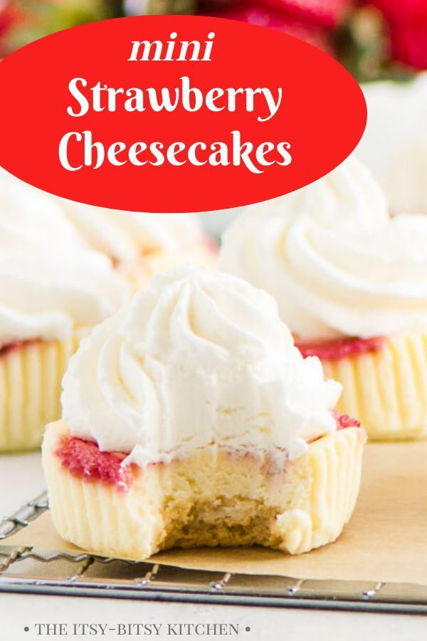 Strawberry Cheesecake Cupcakes Recipe Easy Homemade Desserts