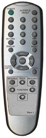 Replacement Remote Control For Jvc Televisions No Programming Needed Sleek Silver Finish by MCM. $20.88. Requires two AAA batteries.(not included). Save 38% Off!