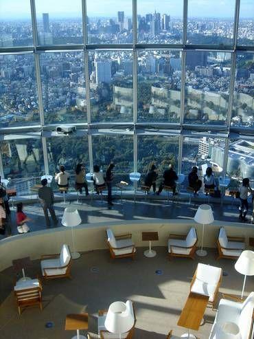 Tokyo City View Observation Deck, Roppongi, Tokyo, Japan 東京シティビュー
