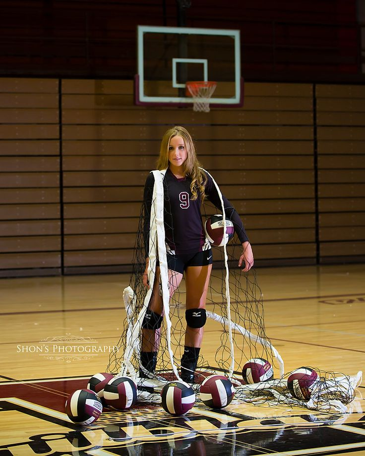 Senior Volleyball player