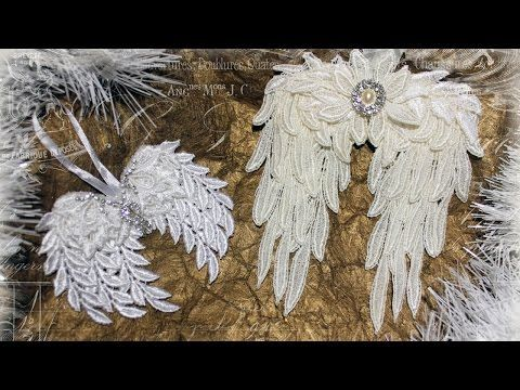 Angel Wings with Tresors de Luxe + timelapse How To - YouTube