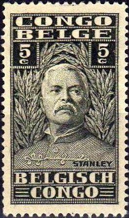Sello: Sir Henry Morton Stanley (Congo Belga) (Henry Morton Stanley) Mi:BE-CD 95,Sn:BE-CD 115,Bel:BE-CD 135