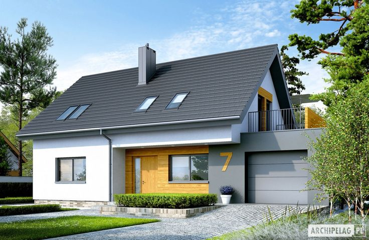 Projekty domów ARCHIPELAG - Logan G1