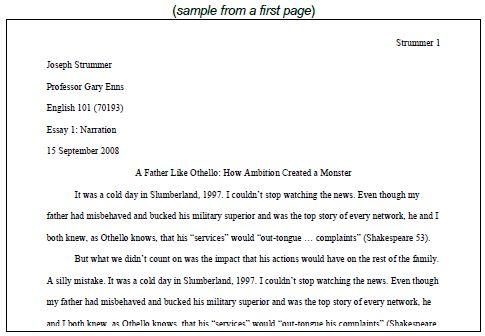 9 best MLA Format images on Pinterest Sample resume, Essay writing