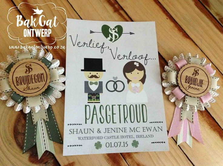 Personalised invitations / announcement cards / stickers / decorations