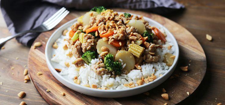 Kjøp Kyllingwok og resten av ukeshandelen med ett klikk! Kyllingwok er kjapp, god og sunn mat som hele familien vil elske!
