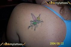 tattoos on Pinterest   Tinker Bell Tattoo Lung Cancer Awareness and ...