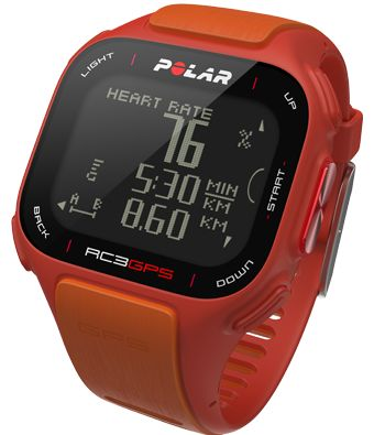RC3 GPS Orange with Heart Rate | GPS | Official Polar USA webstore
