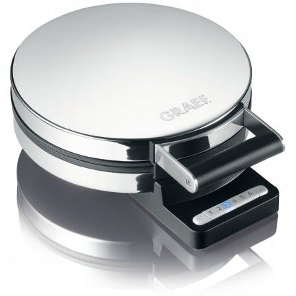 Graef WA85.UK High Polished Waffle Maker