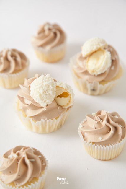 nutella coconut cupcakes