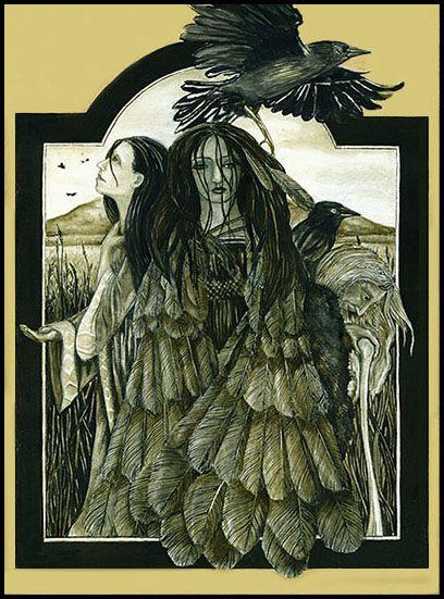 43 best morrigan images on pinterest celtic goddesses and celtic goddess. Black Bedroom Furniture Sets. Home Design Ideas