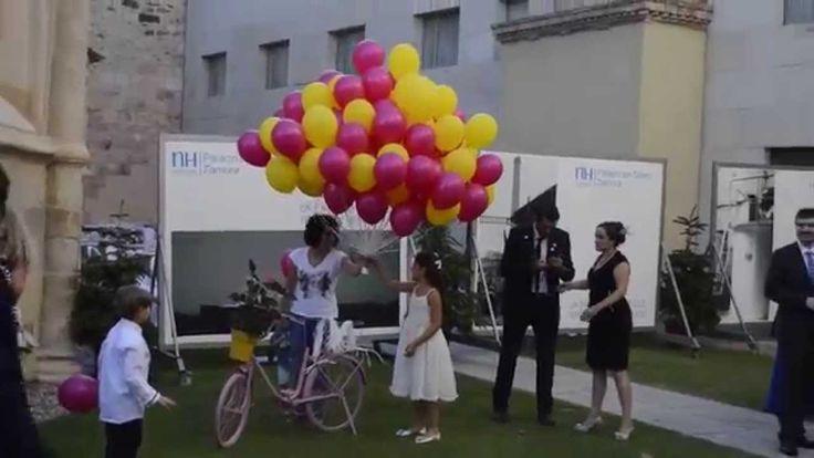 Sueltas de globos de helio para boda en Zamora, Salamanca, Madrid, Valladolid y toda Castilla y León