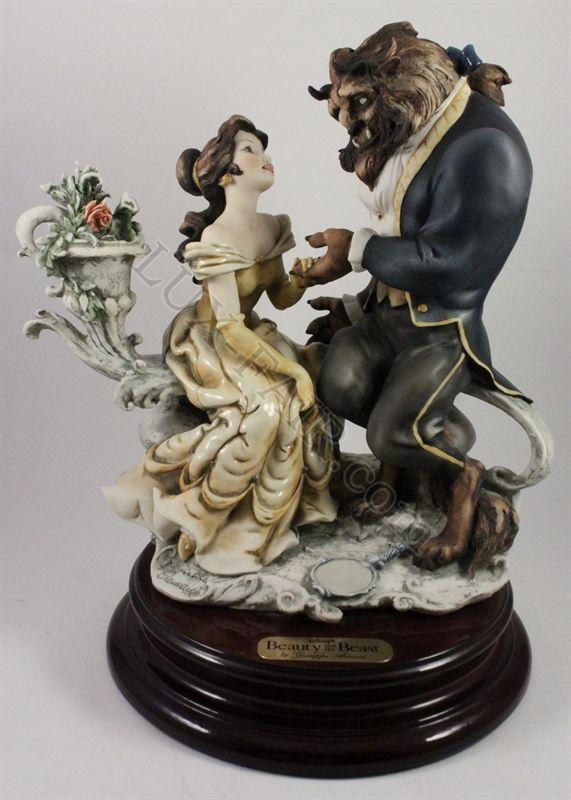 Giuseppe Armani Disney Figurine 543c Beauty And Beast