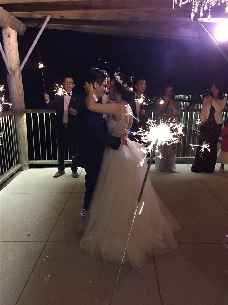 The first dance   #firstdance #sparklers #lebelvedere #weddingdance
