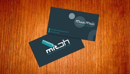 Business Card Design: mitch2004 - Business card idea