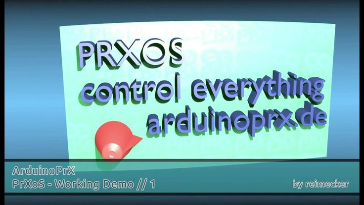 ArduinoPrX : PrXoS Working Demo 1