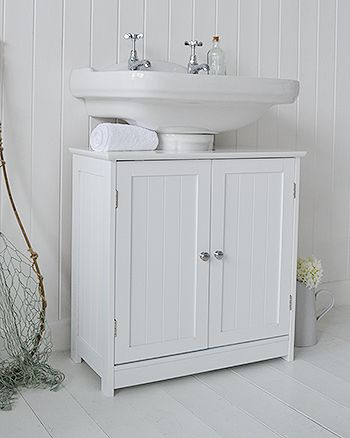 Under sink bathroom Cabinet from The White Lighthouse