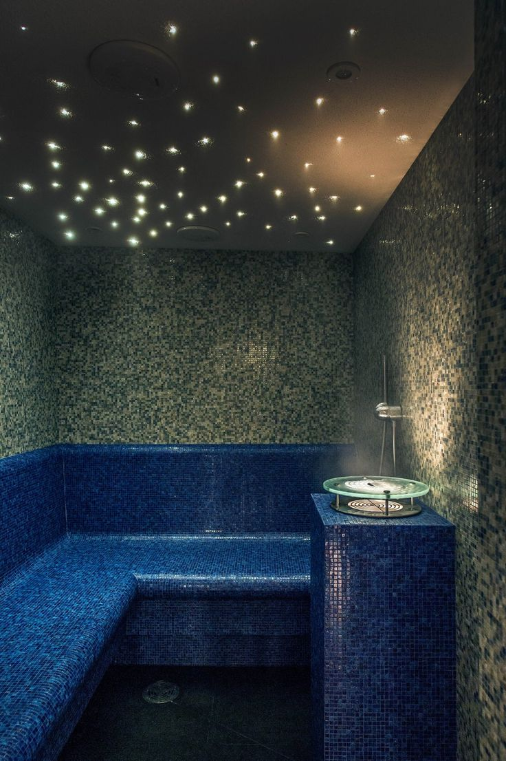 Blow off some steam at The Spa at Mandarin Oriental Hyde Park, London!  After a gruelling work out or refreshing swim, the steam room is the perfect way to relax and unwind!