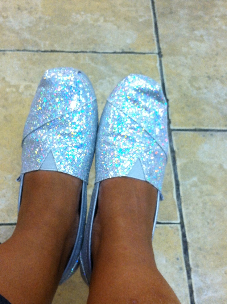 My sparkly bobs shoes by sketchers