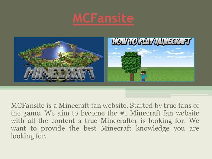 Mcfansite updates the users about the free versions of the game available online as well as provides information about the download essentials to help players enjoy the game with a better experience. There are also tutorials and guides on how to play the game or a particular mode with ease, which can be typically useful for the new players. Check this link right here http://www.mcfansite.com/ for more information on Mcfansite.