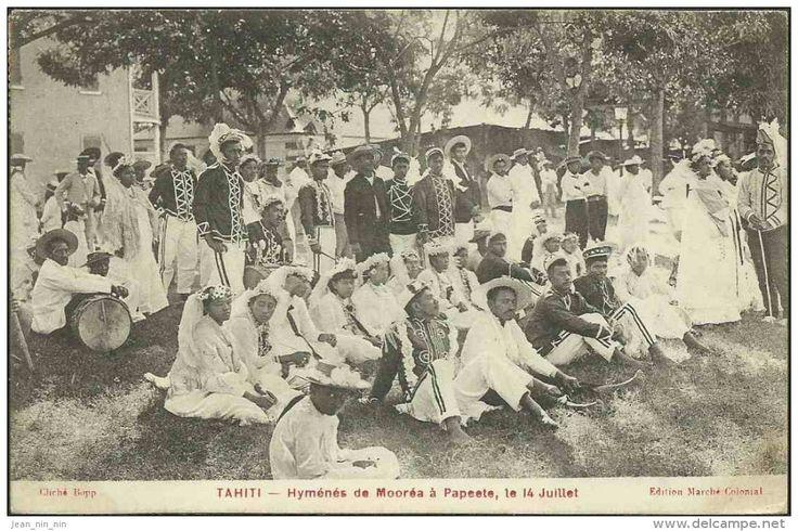 bastille day in tahiti