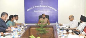 A delegation led by the Minister for Education, Jammu & Kashmir, Shri Syed Mohammad Altaf Bukhari meeting the Union Minister for Human Resource Development, Shri Prakash Javadekar, in New Delhi on May 03, 2017. The Secretary, Department of Higher Education, Shri Kewal Kumar Sharma is also seen.   #current news #Department of Higher Education #government news #india news #Jammu & Kashmir #JAMMU NEWS #KASHMIR NEWS #Kewal Kumar Sharma #news #political news #Prakash Javadekar