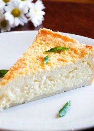 Torta de queijo Minas