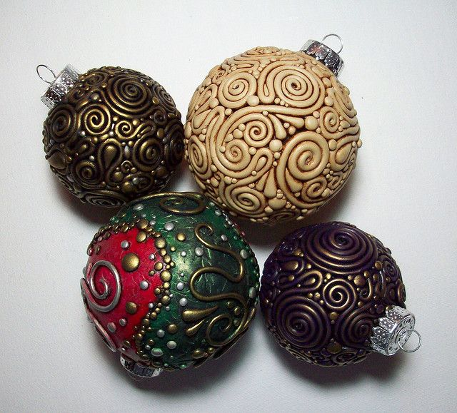 Polymer Clay Christmas Ornament: 1000+ Images About Christmas Ornament Ideas (w/ Polymer