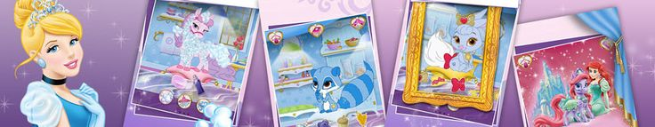 Disney Princess Palace Pets | disney.nl spelletjes