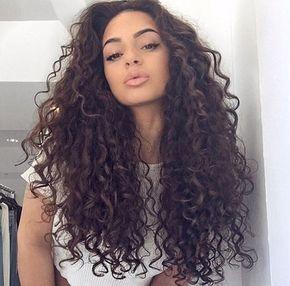 cabello rizado chicas