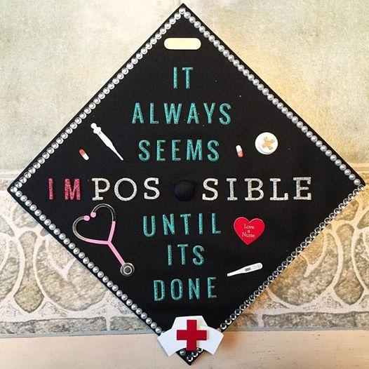 BSN Nursing Graduation Cap #nursing #BSN #Graduation #NursingSchoolGraduation #GraduationCap #BSNgraduation