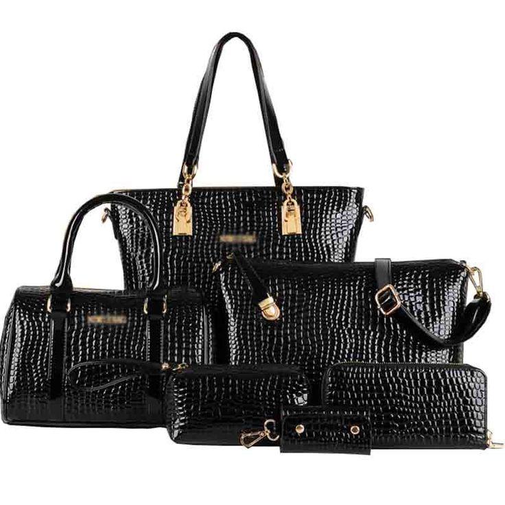 2015 New Arrival Women Tote Women's Shoulder Bags Lady's Handbag Messenger Desigual Crossbody Bag 6 Sets
