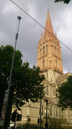 Church tower Melbourne