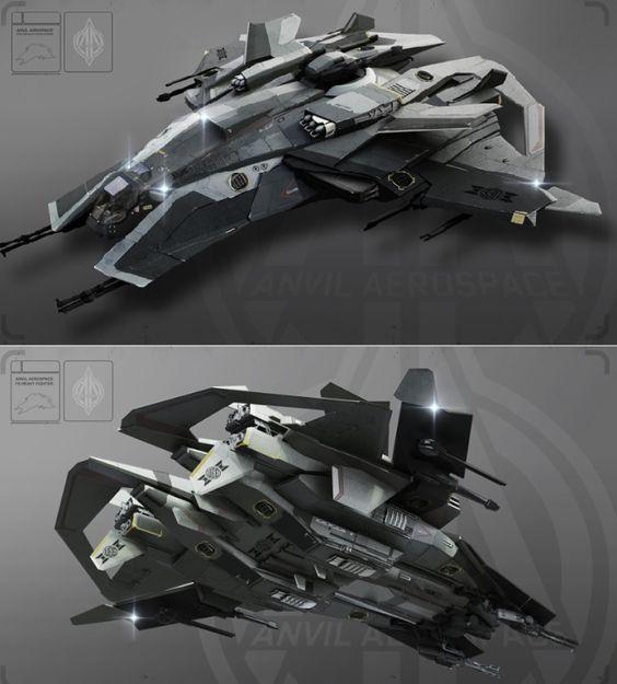 Science Fiction — glacier1701: Star Citizen: Anvil F8 ...