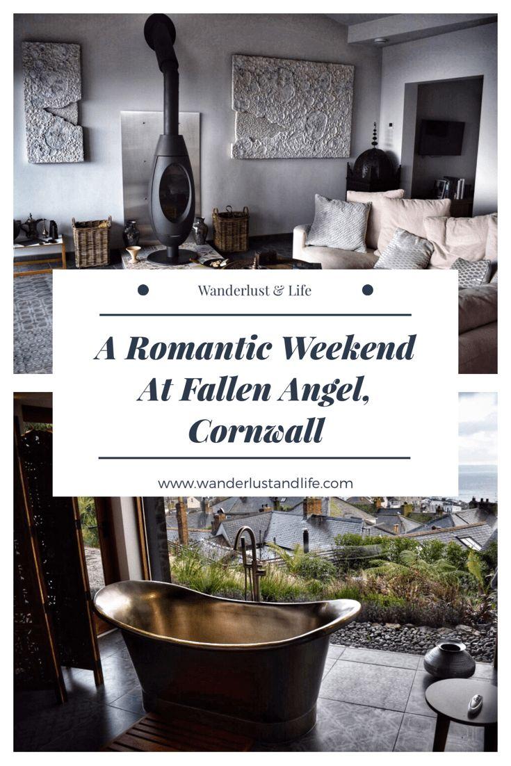 A romantic weekend at Fallen Angel in Cornwall