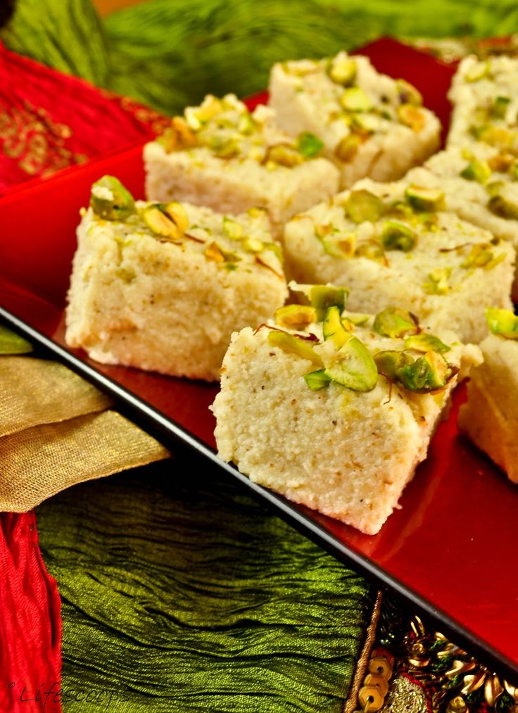 Easy And Quick Kalakand Sweetened Ricotta Cheese Squares Desserts With Ricotta Cheese Diwali