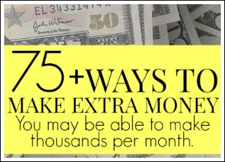 More creative ways to make extra money! #makemoneyfromhome #money (scheduled via http://www.tailwindapp.com?utm_source=pinterest&utm_medium=twpin&utm_content=post86350855&utm_campaign=scheduler_attribution)