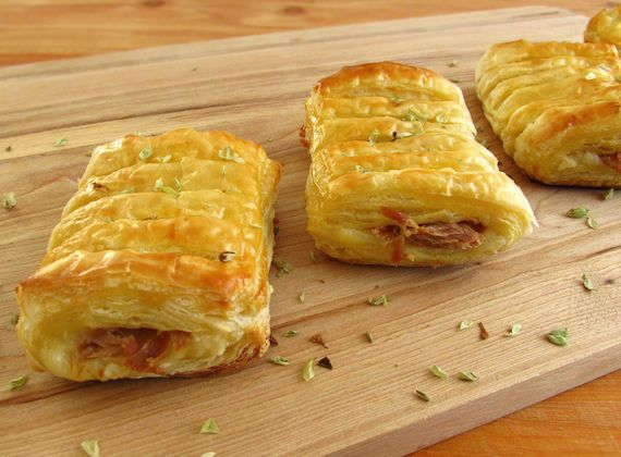 ... beaten egg. http://www.foodfromportugal.com/recipe/tuna-cheese-puffs
