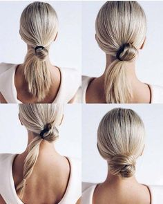 Need inspiration for quick and easy updos? We've got you covered. Try one of these 23 updo ideas for busy women that will work on every hair type.